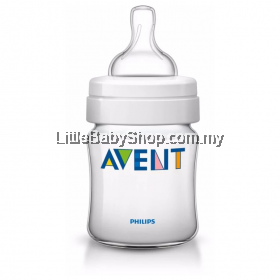 Philips Avent Classic Plus PP Bottle 4oz/125ml Single Pack